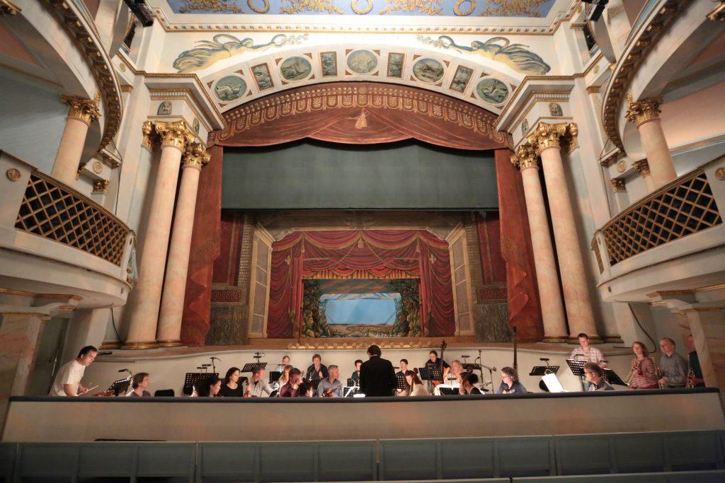 "Probe ""rinaldo"" im mBarocktheater Ludwigsburg Mai 2012"